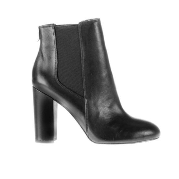bd243a9d5150 Sam Edelman Case Black Leather Booties. M 5b391f8b7386bc781d9b7f5d